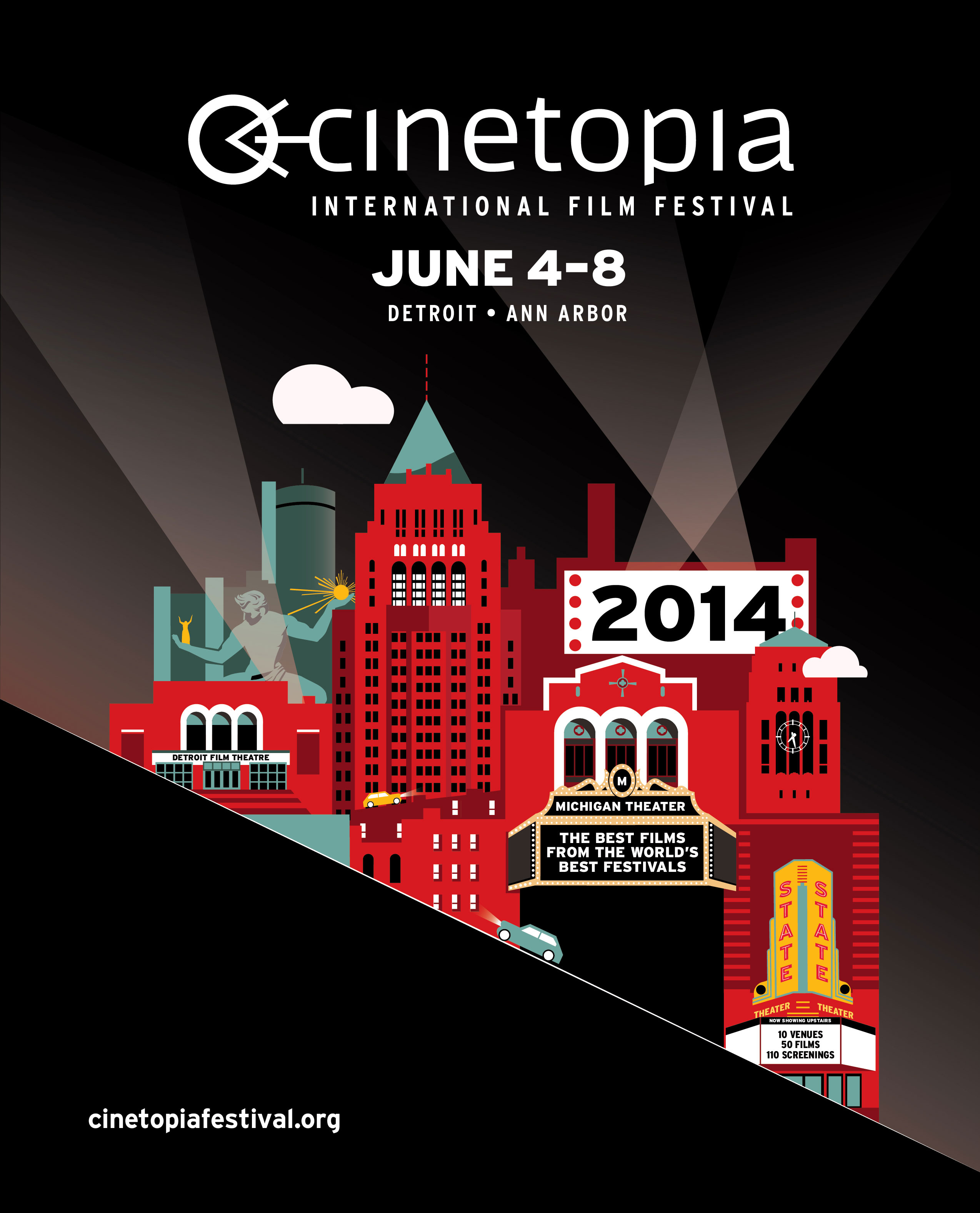 CINETOPIA FESTIVAL 2014: How To Have Fun June 4-8!